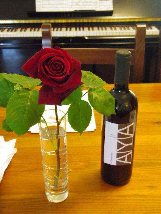 バラが咲きました。Orvieto Il Riposino