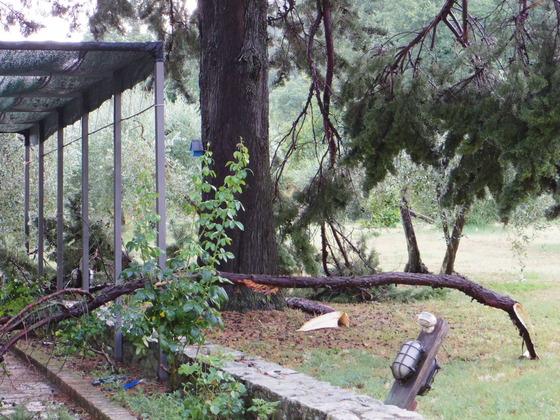 Tornado in Orvieto(竜巻)